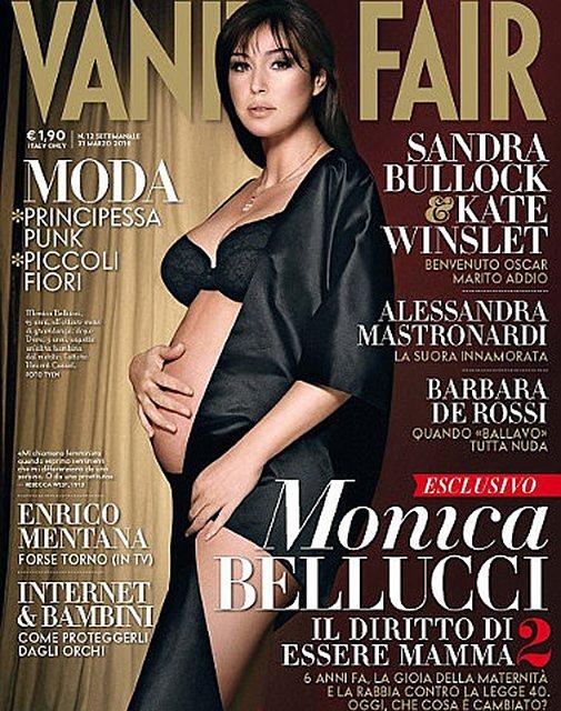 Моника Беллуччи на обложке Vanity Fair. 2010 год