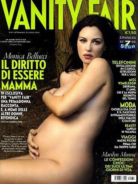 Моника Беллуччи на обложке Vanity Fair