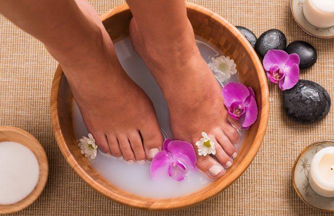 морская соль лечебные свойства для ног