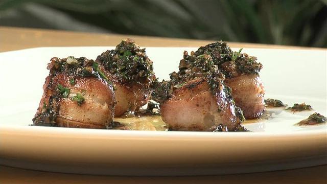 морские гребешки рецепт