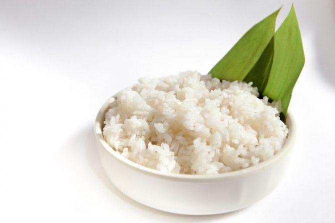 можно есть рис на диете
