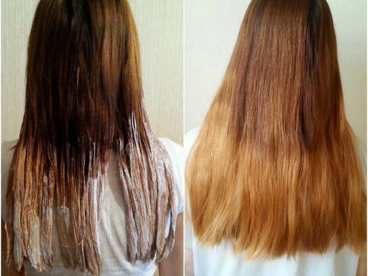 Можно использовать цвет для окрашивания всего на 1-2 тона светлее ваших натуральных волос.