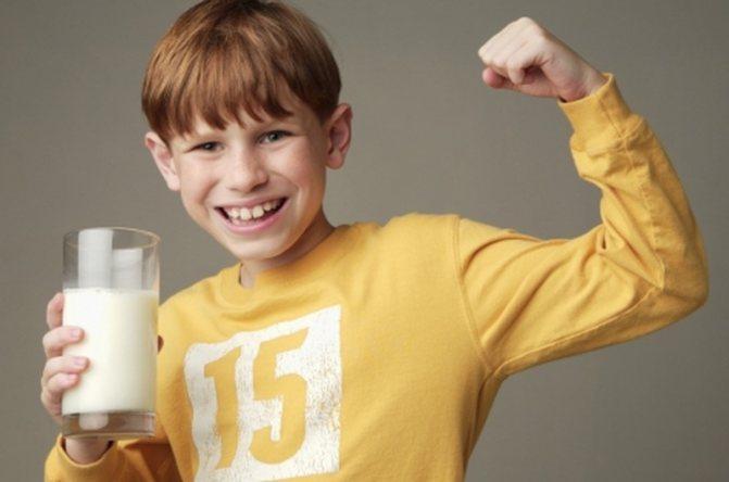 Можно ли детям молоко: зависит от возраста