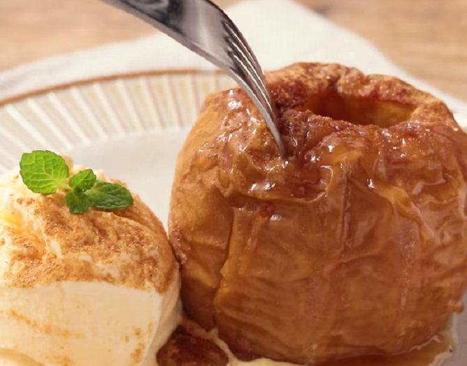 Можно ли есть печеное яблоко на ночь?