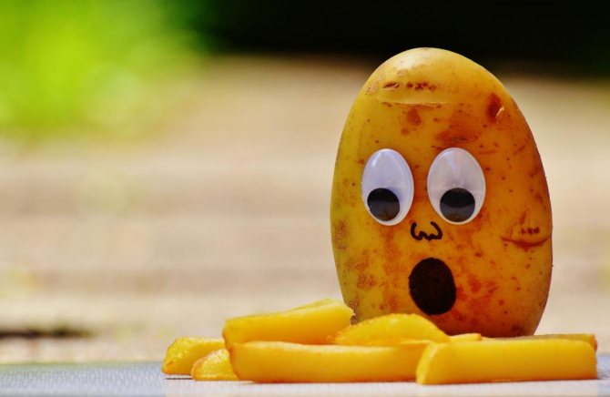 можно ли вареную картошку на диете