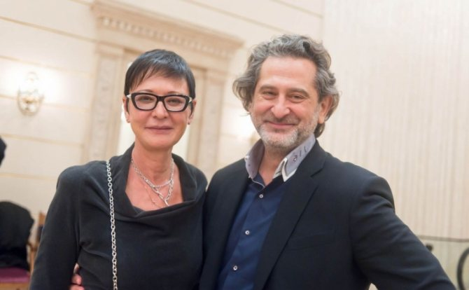 Муж Ирины Хакамады – Владимир Сиротинский фото