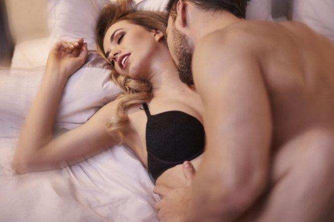 мужчина и оргазм