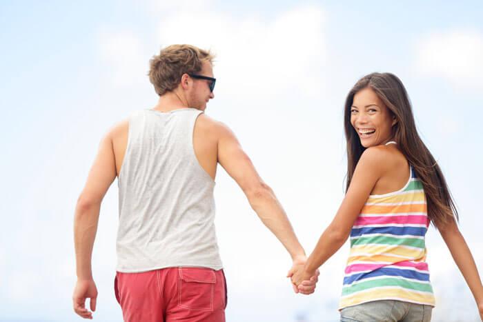 Мужчина и женщина партнеры