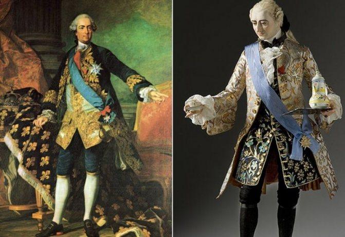 Мужчины 18 века декорировали свои парики большими бантами