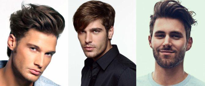 мужская укладка волос