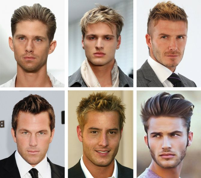 Мужские прически с мелированием. Мелирование мужских волос