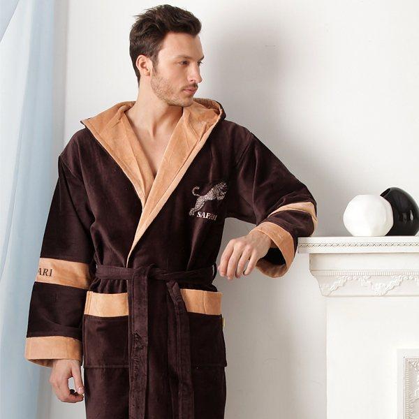 мужской домашний халат