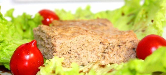 мясное суфле из фарша рецепт