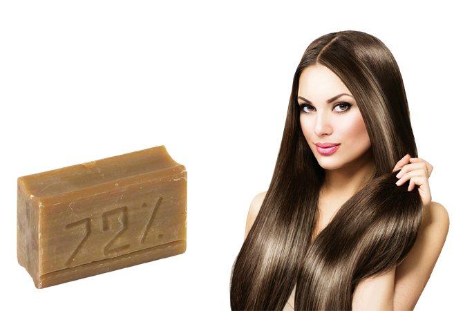 Мыло и волосы