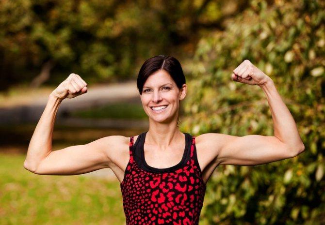 мышцы в тонусе