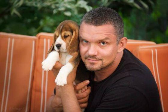 На фото: актер Владимир Епифанцев