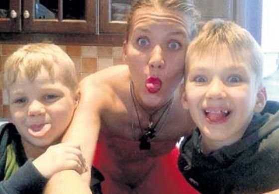На фото: бывшая жена и дети Владимира Епифанцева