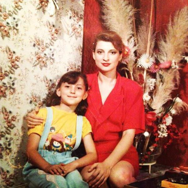 На фото: Светлана Дубинская с дочерью Ингой