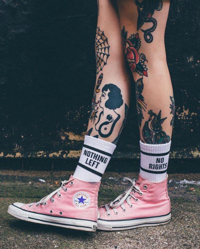 На ноге