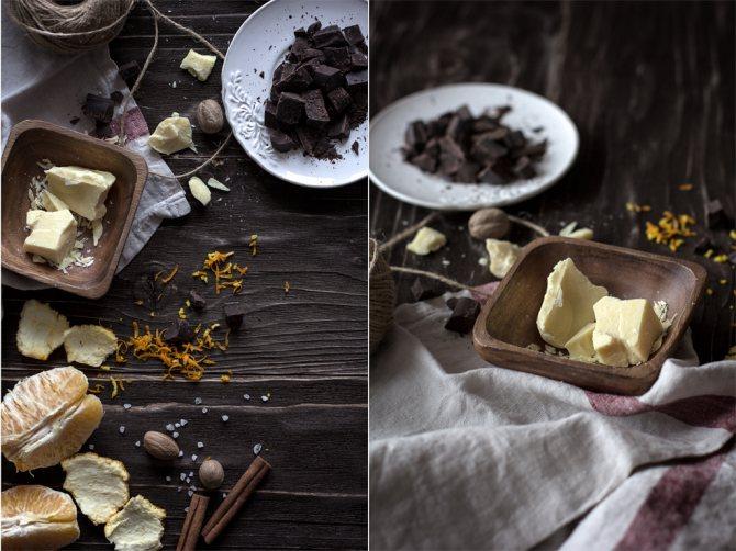 настоящий горький шоколад дома