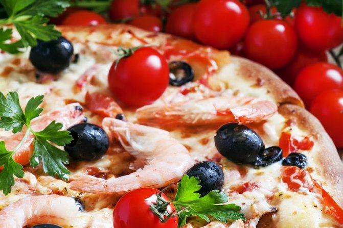 начинка для пиццы в духовке