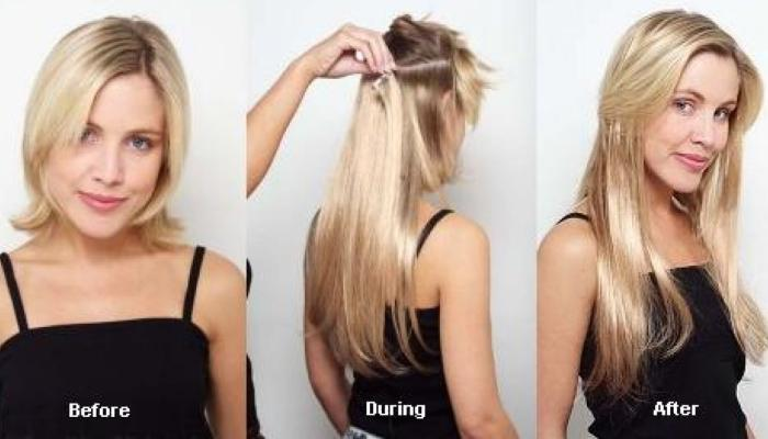 Накладные пряди на короткие волосы помогут создать элегантную прическу на свадьбу