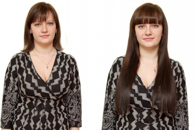 наращивание волос капсулами в домашних условиях