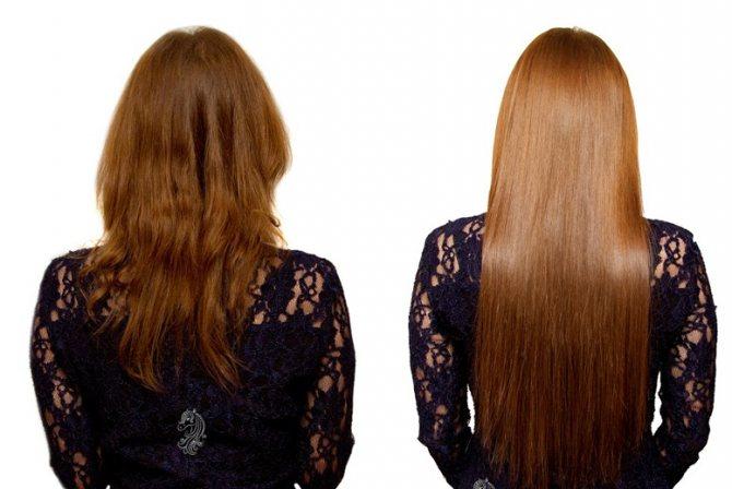 наращивание волос кератиновыми капсулами