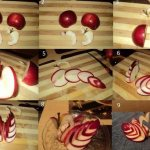 Нарезка яблока
