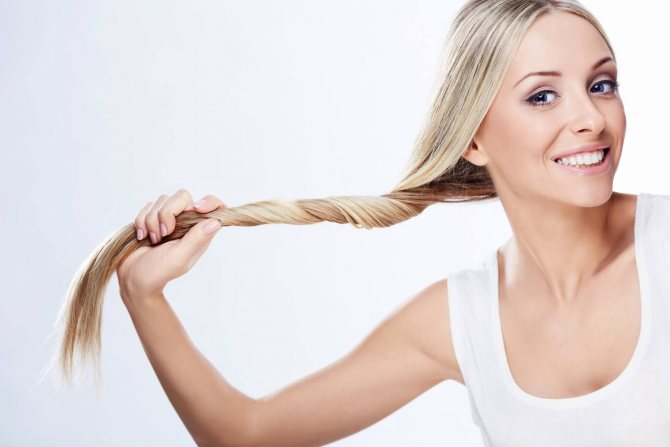 Народные средства от пушистости волос