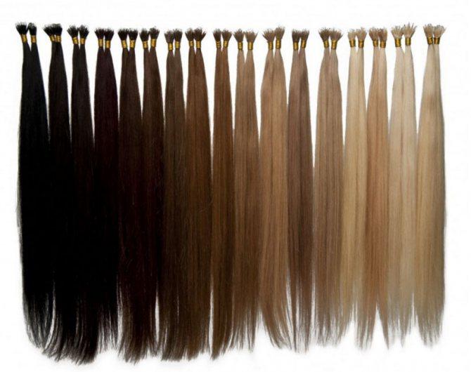 Нарощенные волосы в салоне