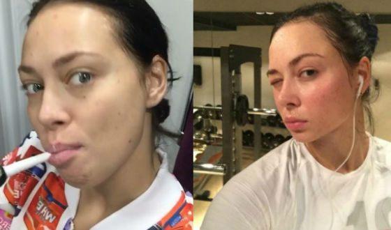 Настасья Самбурская без макияжа