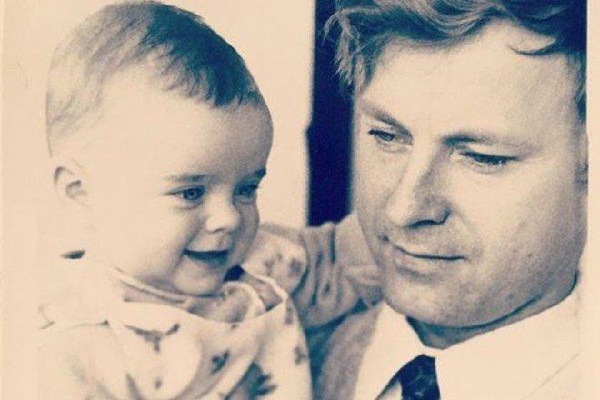 Наташа Королёва с отцом