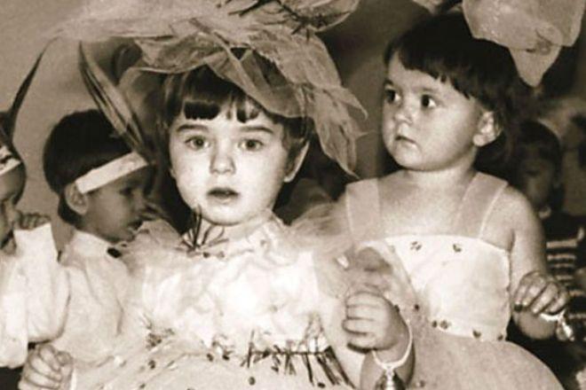 Наташа Королёва в детстве