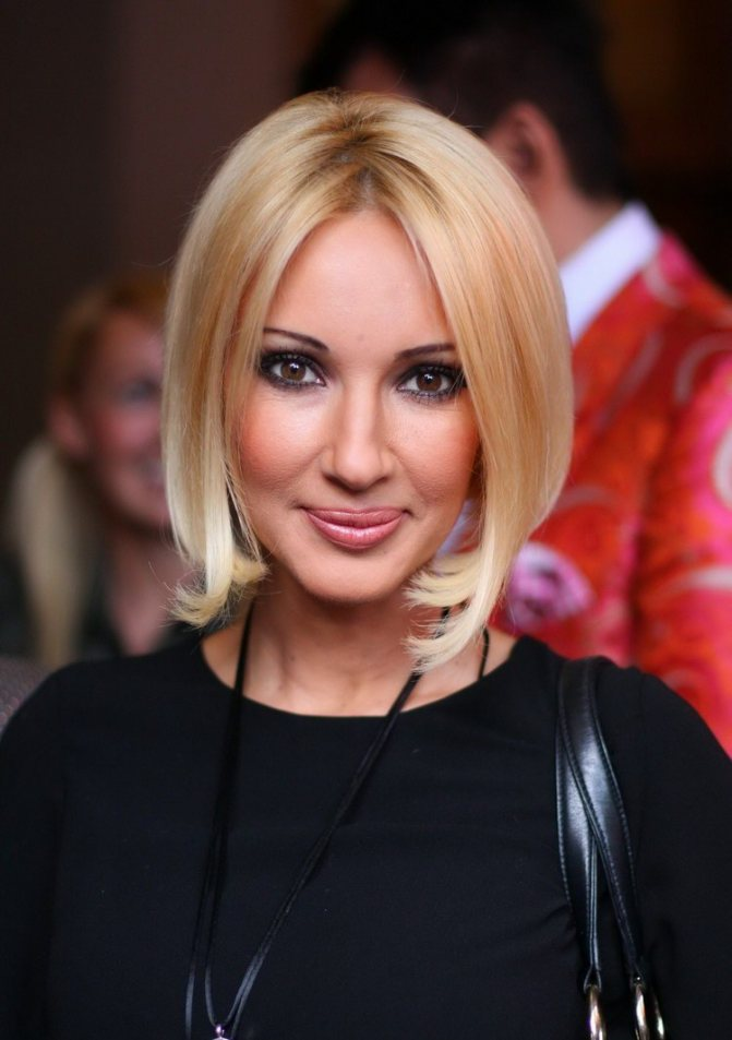 Натуральный блонд для карих глаз