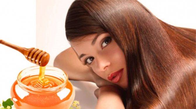 Натуральный мед – эффективная сила для волос