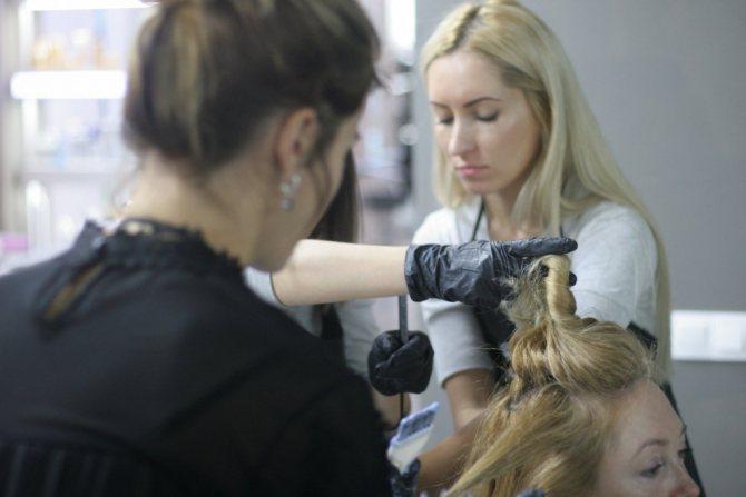 Навыки колористики волос