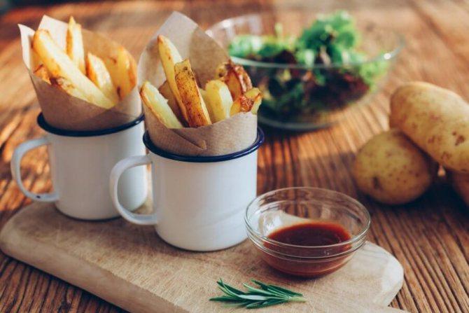 """'Не вся картошка одинакова полезна при похудении. Например """"фри"""
