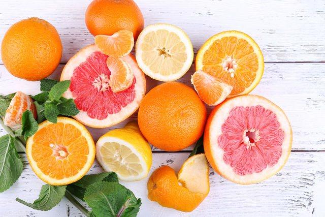 Не забывайте про цитрусовые, они кладезь витаминов