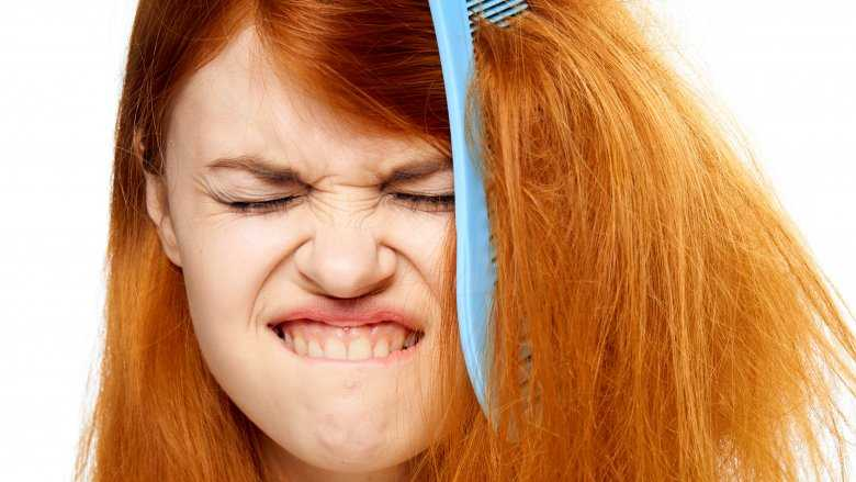 непослушные вьющиеся волосы
