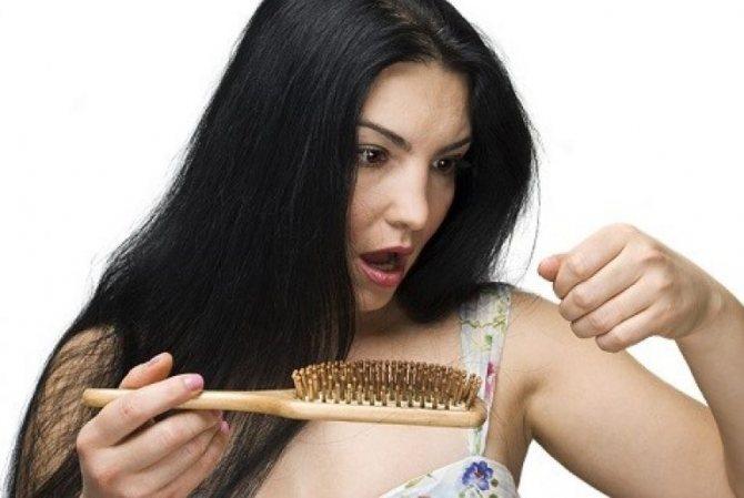 Несколько волос на расческе – совершенно не повод для паники