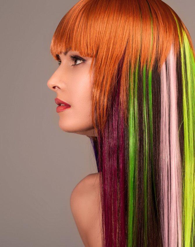 Неудачная окраска волос: что делать?