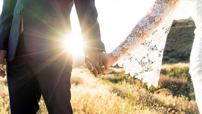 невеста все же показала платье жениху до свадьбы