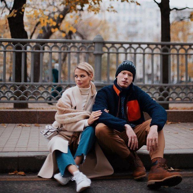 Никита Пресняков и Алена Краснова