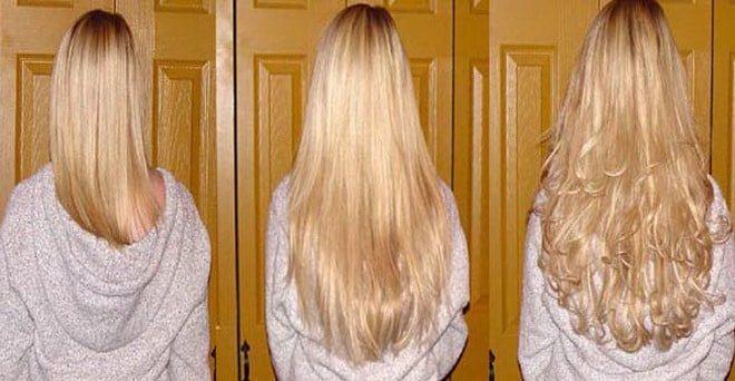 ночная маска поможет отрастить волосы