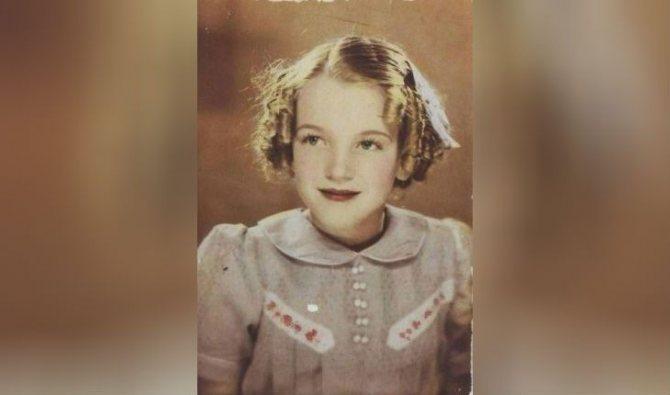 Норма росла очень красивым ребенком