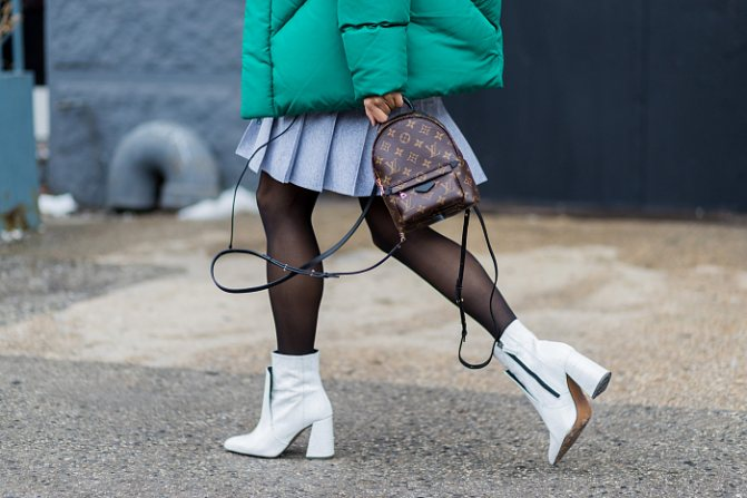 Носить или не носить капроновые колготки: модные правила 2018 фото № 5