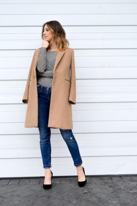 носят ли пальто с джинсами