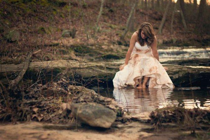 О чем говорит сон про свадебное платье