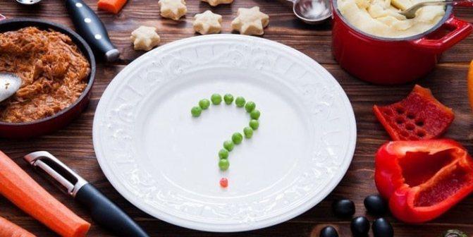 Обед при похудении
